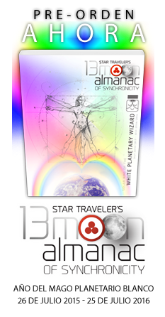 Pre-Order Now! 2015-2016 Star Traveler's 13 Moon Almanac of Synchronicity