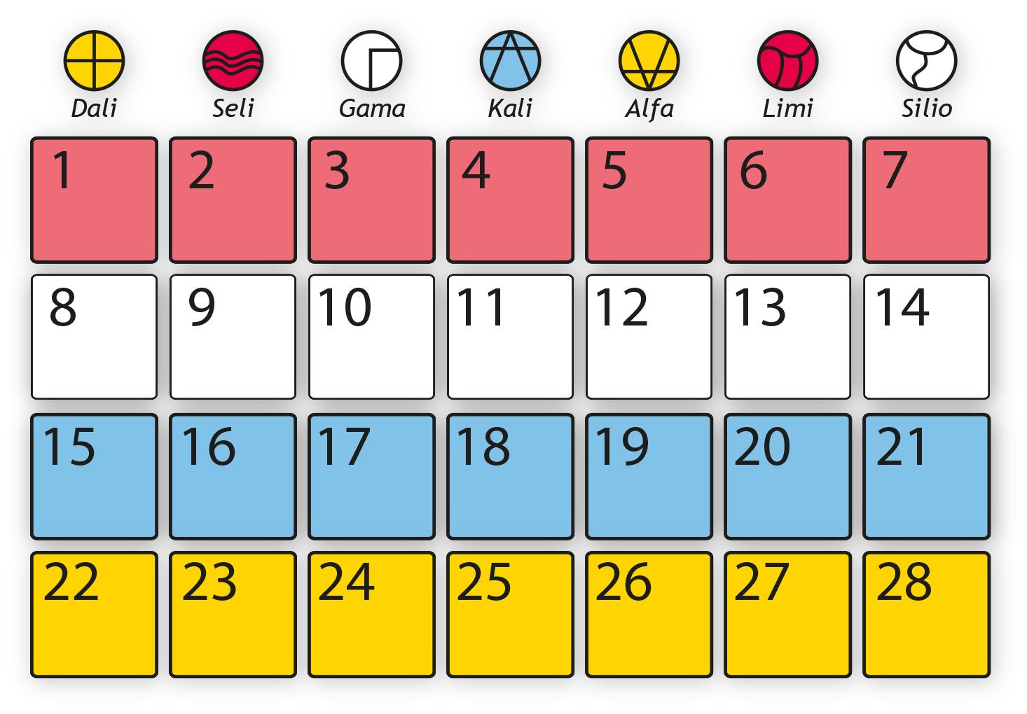 Tutorial Del Calendario De 13 Lunas